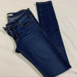 Hollister denim blue skinny jeans 1R